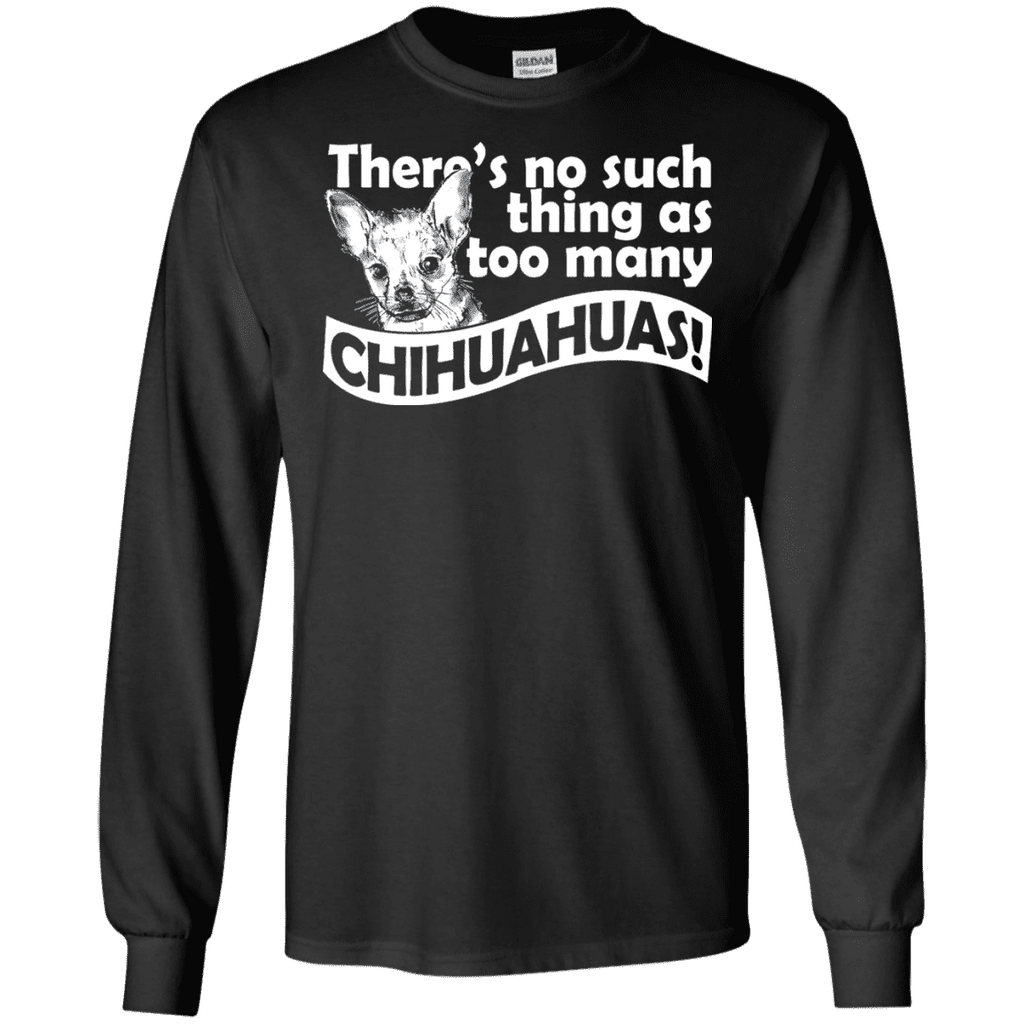 Too Many Chihuahua Men Tee - STUDIO 11 COUTURE
