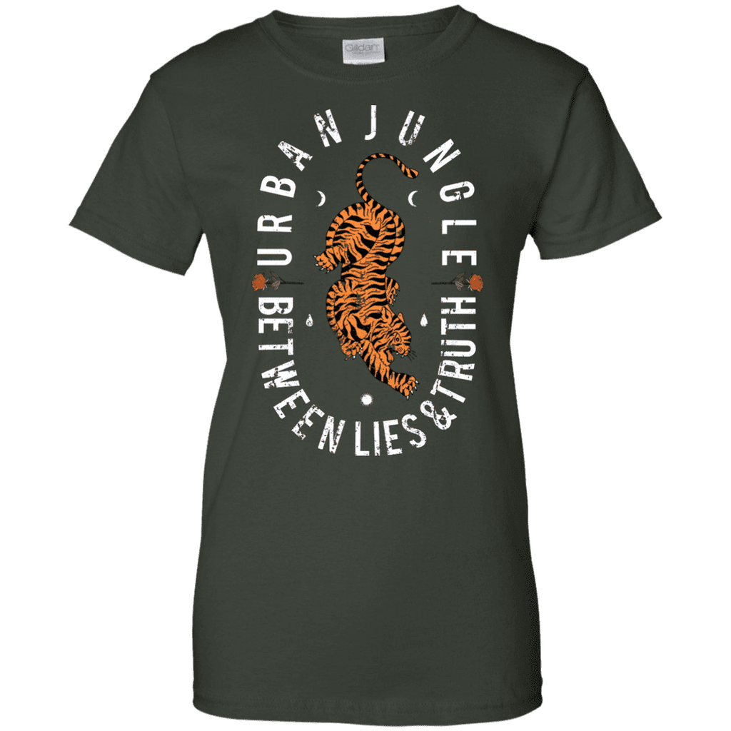 Urban Jungle Between Lies And Truth Ladies Tee - STUDIO 11 COUTURE