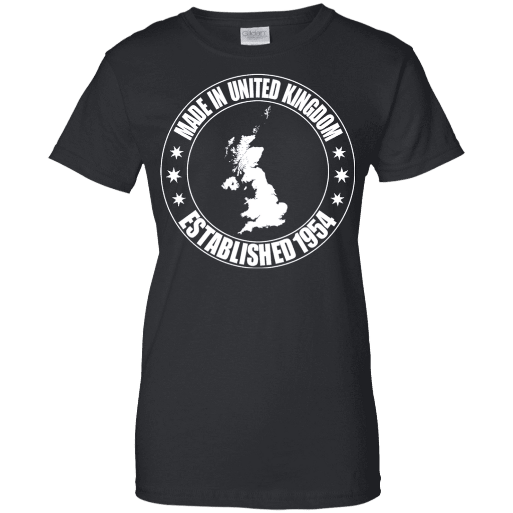 Made In United Kingdom Ladies Tee - STUDIO 11 COUTURE