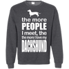 Image of More People Loves Dachshund Men Tee - STUDIO 11 COUTURE
