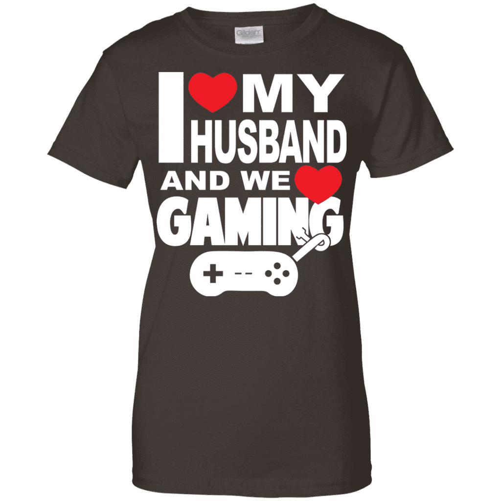 I Love My Husband And Gaming Ladies Tee - STUDIO 11 COUTURE