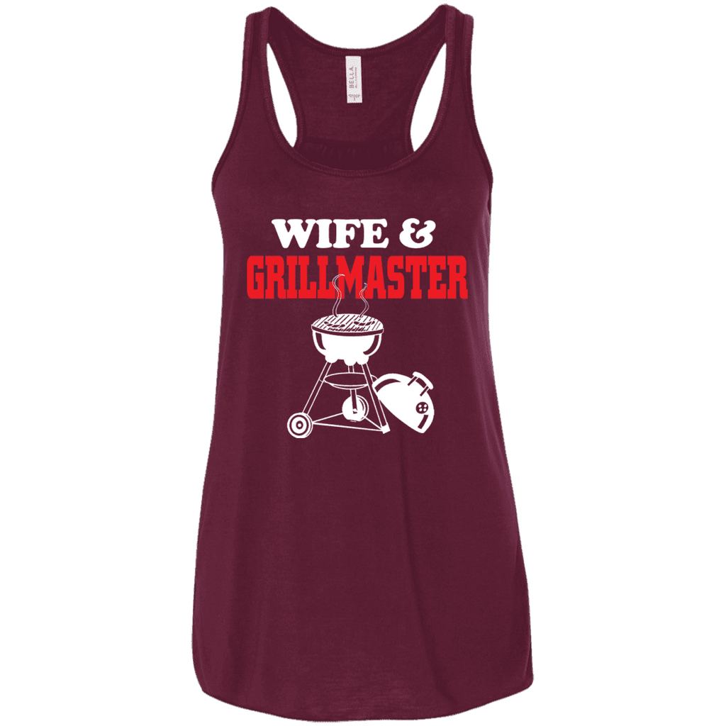 Wife And Grill Master Ladies Tee - STUDIO 11 COUTURE