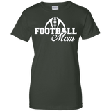 Foot Ball Mom Ladies Tee - STUDIO 11 COUTURE