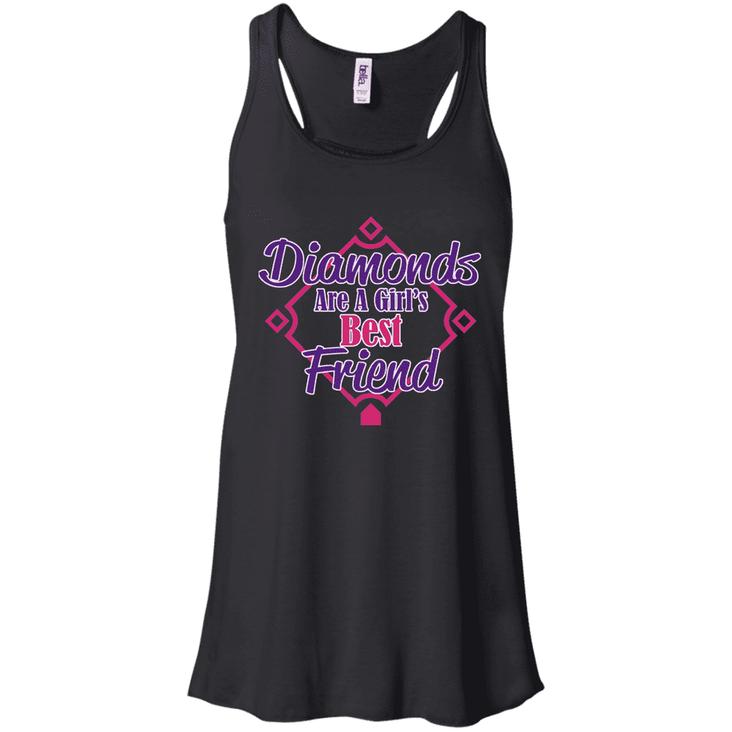 Diamonds Best Friend Ladies Tee - STUDIO 11 COUTURE