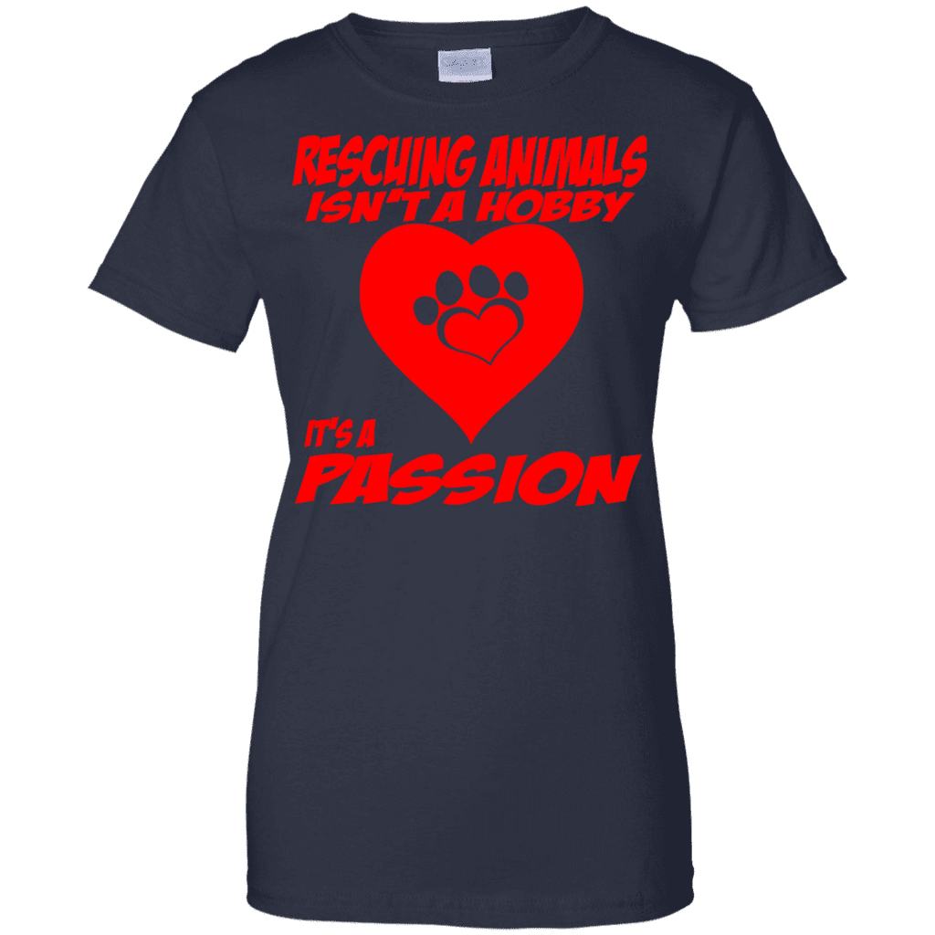 Rescuing Animals Ladies Tee
