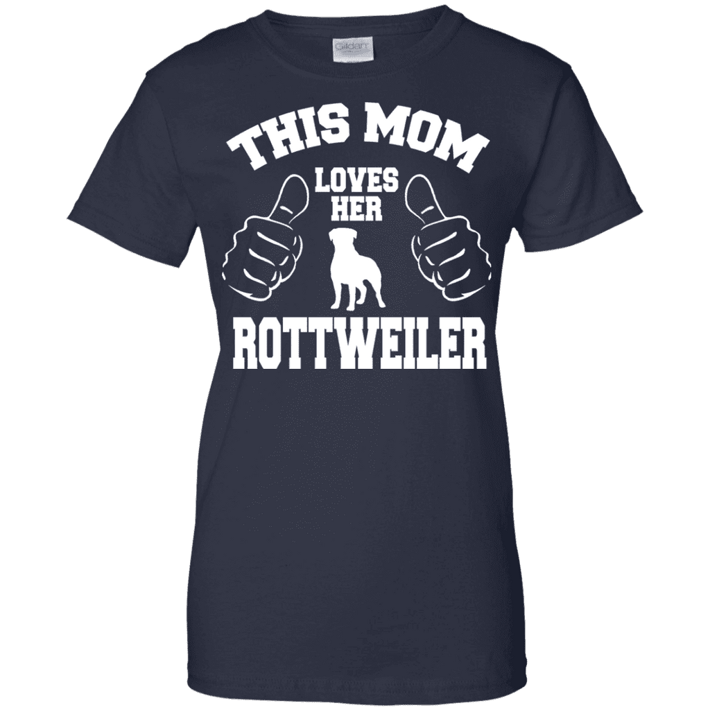 This Mom Loves Her Rottweiler Ladies Tee - STUDIO 11 COUTURE