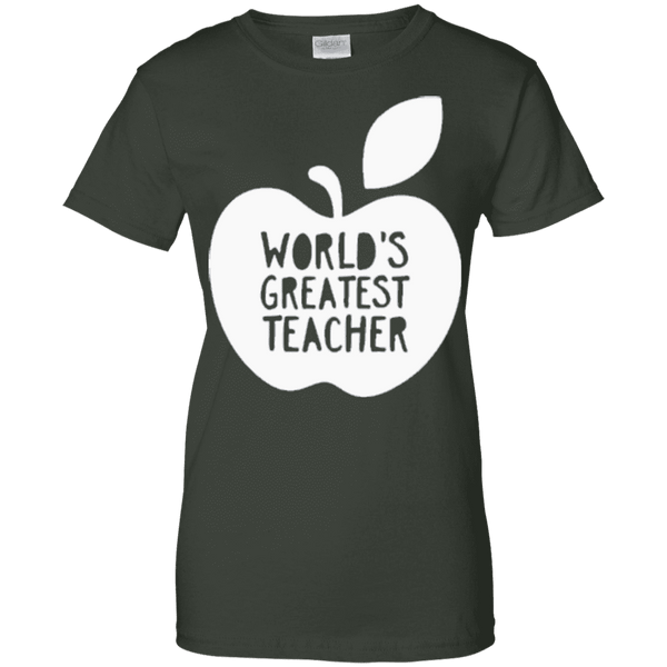 World Greatest Teacher Ladies Tee - STUDIO 11 COUTURE