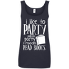Image of I Like Read Books Ladies Tee - STUDIO 11 COUTURE