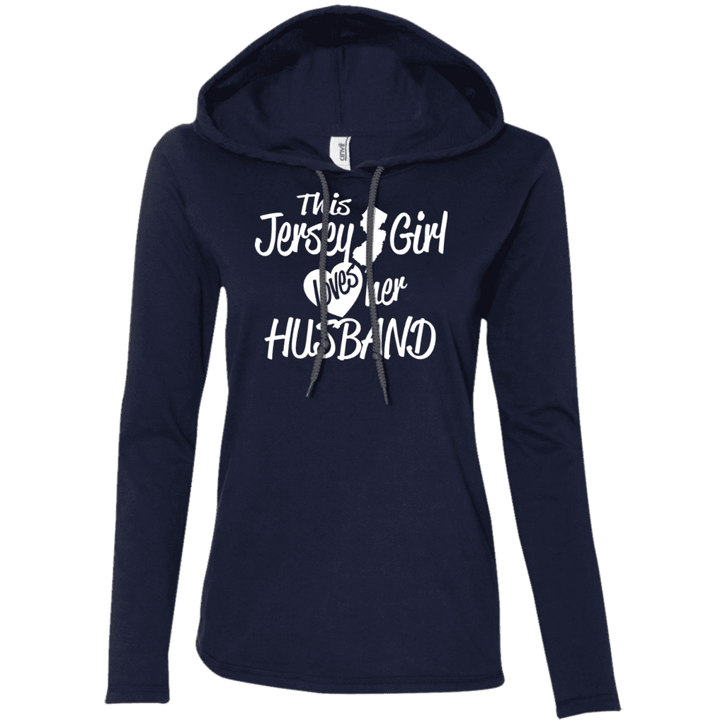Jersey Girl Loves Her Husband Ladies Tee - STUDIO 11 COUTURE