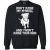 Image of Don't Judge My Pitbull Men Tee