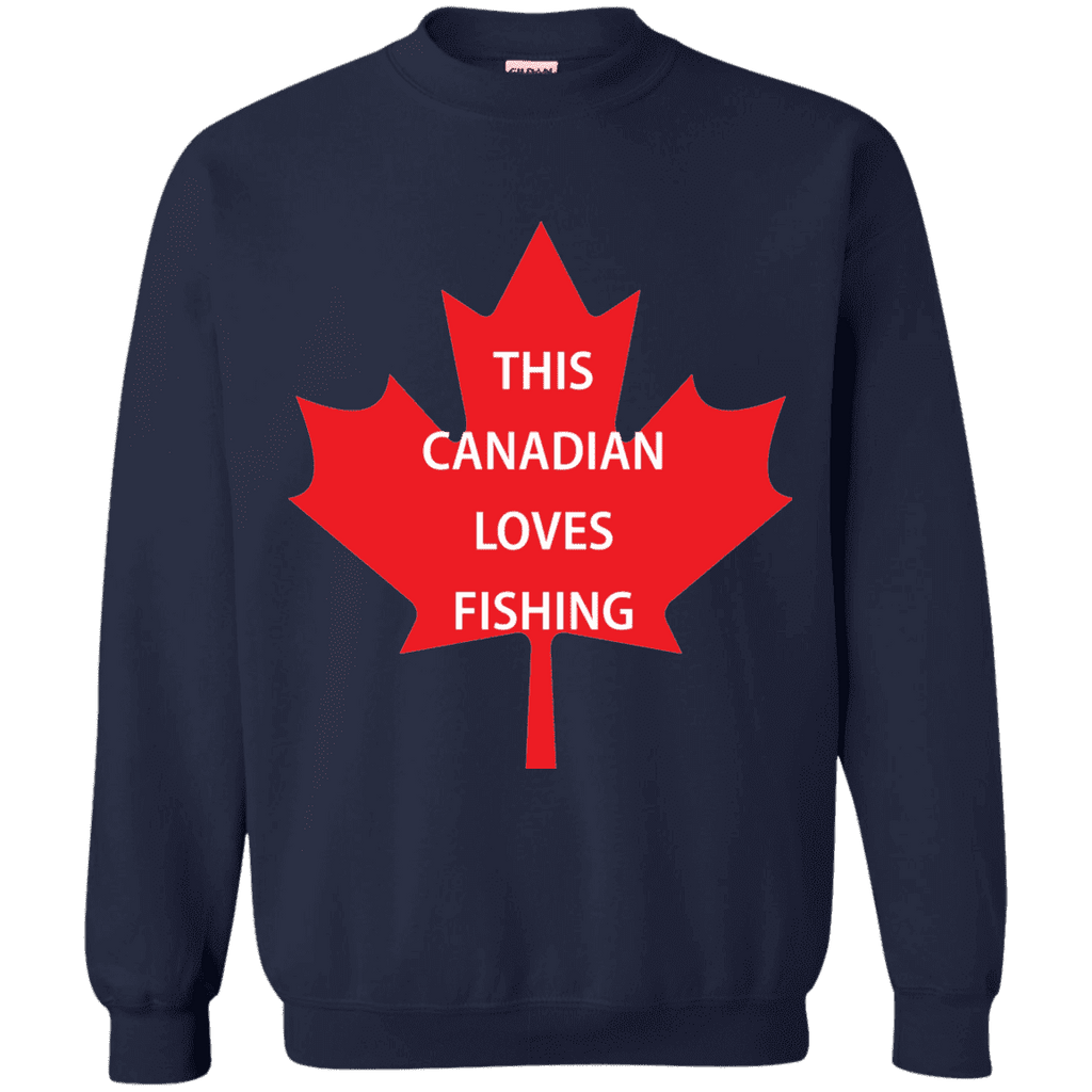 Canadian Loves Fishing Men Tee - STUDIO 11 COUTURE