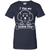 Image of Bichon Frise Ladies Tee - STUDIO 11 COUTURE