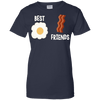 Image of Best Friends Egg And Bacon Ladies Tee