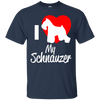 Image of I Love My Schnauzer Men Tee - STUDIO 11 COUTURE