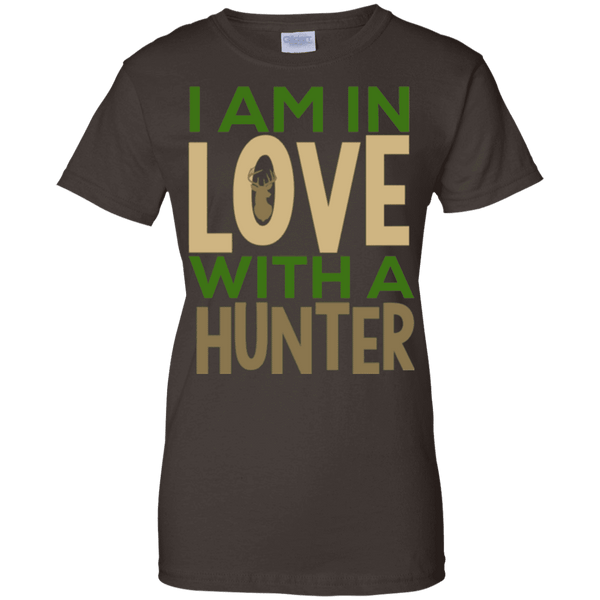 I'am Inlove With A Hunter Ladies Tee - STUDIO 11 COUTURE