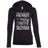 MidWest But This Girl Is Hollywood Ladies Tee - STUDIO 11 COUTURE
