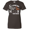Image of I Love My Dachshund Ladies Tee - STUDIO 11 COUTURE