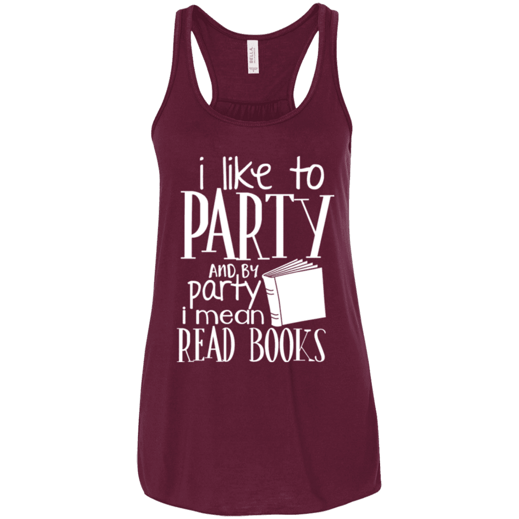 I Like Read Books Ladies Tee - STUDIO 11 COUTURE