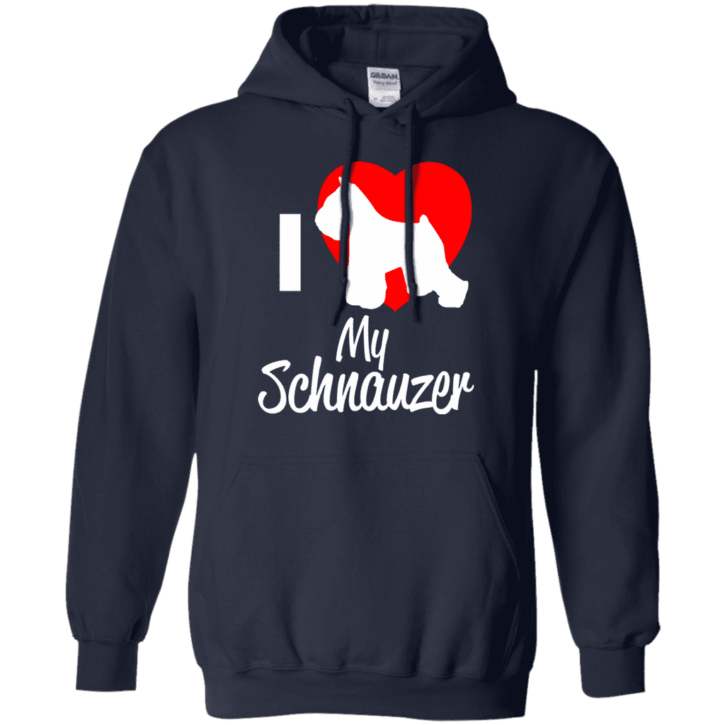 I Love My Schnauzer Men Tee - STUDIO 11 COUTURE