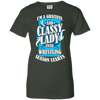Image of Classy Lady Until Wrestling Ladies Tee - STUDIO 11 COUTURE