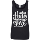 Turn Hate Into Love Ladies Tee - STUDIO 11 COUTURE