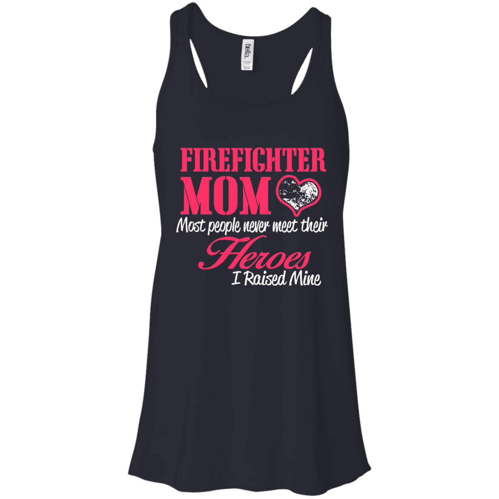 Fire Fighter Mom Ladies Tee - STUDIO 11 COUTURE