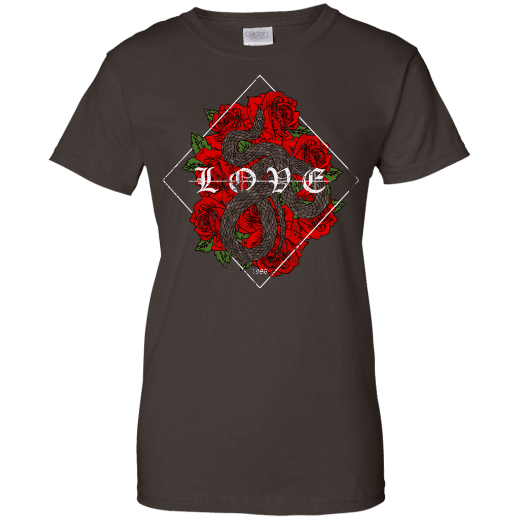 Snake Rose Ladies Tee