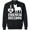 Image of Heart French Bulldog Men Tee - STUDIO 11 COUTURE
