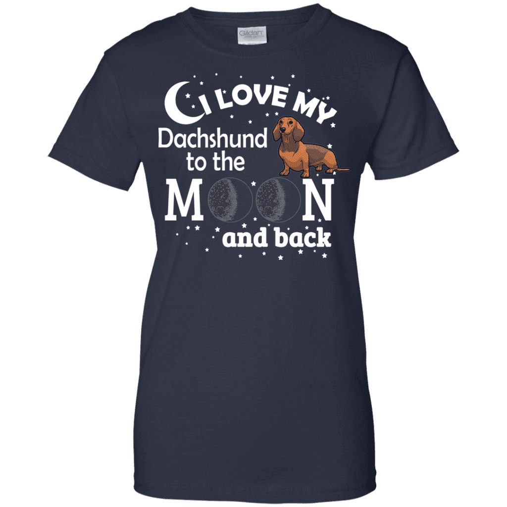 I Love My Dachshund Ladies Tee - STUDIO 11 COUTURE