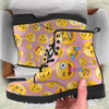 Image of Emoji Happy Womens Leather Boots