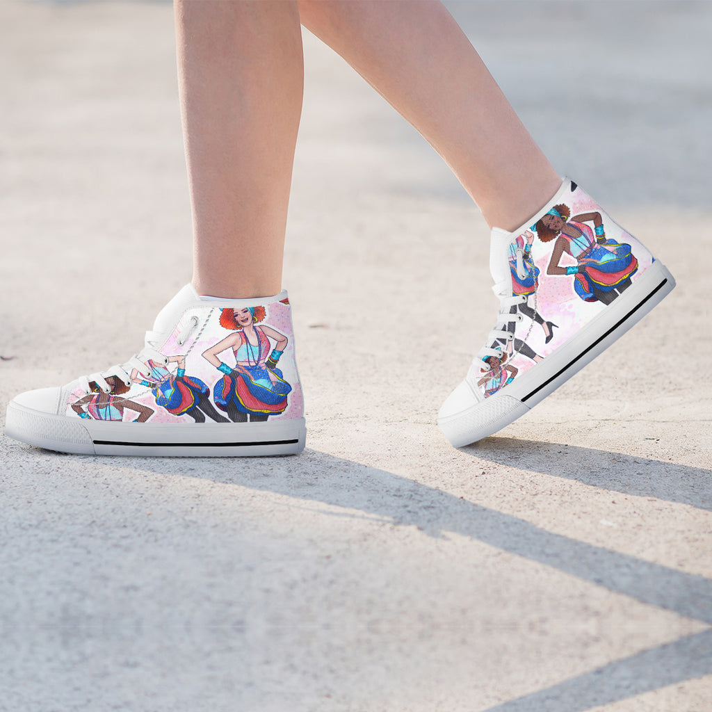 Fashion Girl Womens High Top Shoes