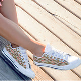 Follow The White Rabbit Womens Low Top Shoes