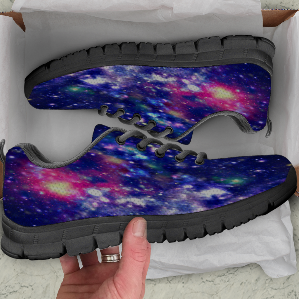 Galaxy Womens Athletic Sneakers - STUDIO 11 COUTURE