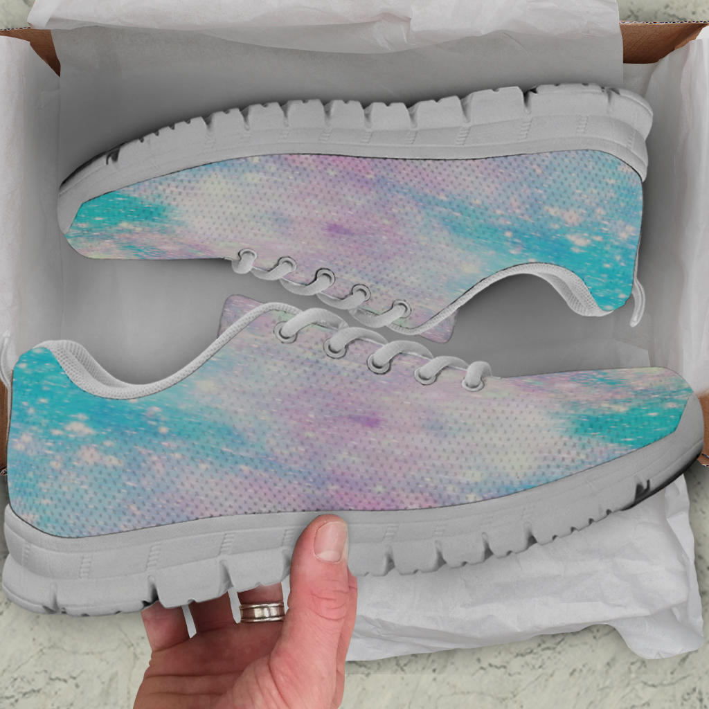 Galaxy Pastel Kids Sneakers - STUDIO 11 COUTURE
