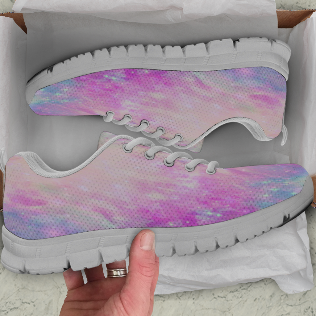 Galaxy Pastel Kids Sneakers