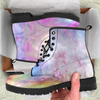 Image of Galaxy Pastel Womens Leather Boots - STUDIO 11 COUTURE