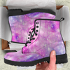 Image of Galaxy Pastel Womens Leather Boots