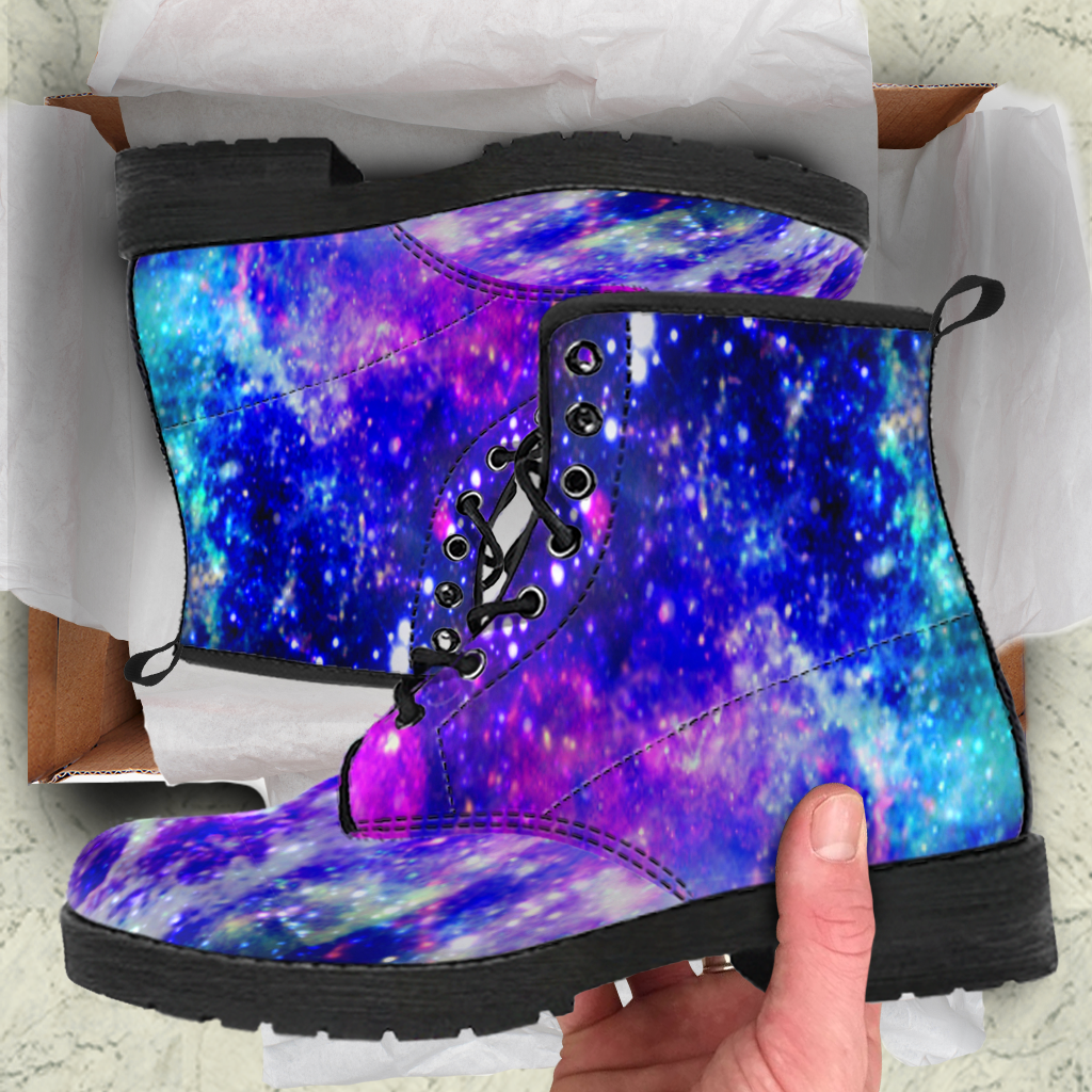 Galaxy Womens Leather Boots