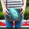 Image of Galaxy 6 Crossbody Shoulder Canvas Leather Saddle Bag - STUDIO 11 COUTURE