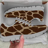 Giraffe Skin Kids Sneakers - STUDIO 11 COUTURE