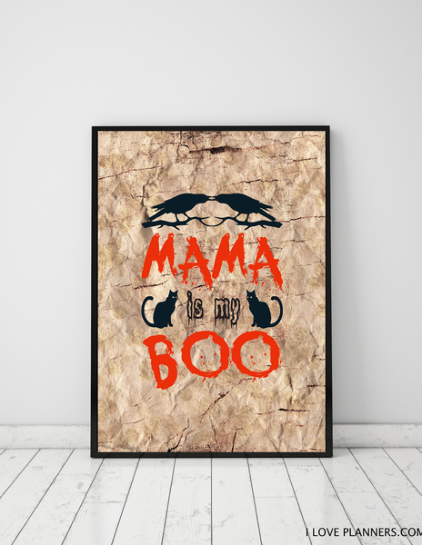 FREE Poster, Print It Yourself, DIY, Instant Download, Printable: Budget Halloween Decoration 4