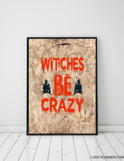 FREE Poster, Print It Yourself, DIY, Instant Download, Printable: Budget Halloween Decoration 7