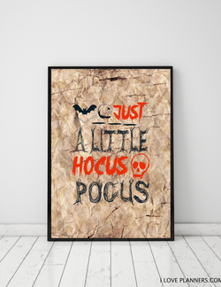 FREE Poster, Print It Yourself, DIY, Instant Download, Printable: Budget Halloween Decoration 8