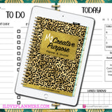 My Creative Purpose Digital Planner, Journal, and Workbook/ GoodNotes, Xodo, Digital Journal, iPad Planner, tablet Planner Digital Planner Stickers