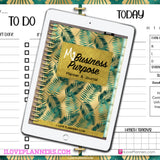 My Business Purpose Digital Planner, Journal, and Workbook/ GoodNotes, Xodo, Digital Journal, iPad Planner, tablet Planner Digital Planner Stickers