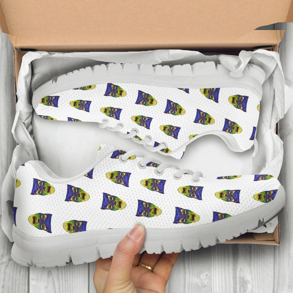 Snow White Mirror Faces Kids Sneakers