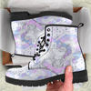 Image of Unicorn In Love Heart Womens Leather Boots - STUDIO 11 COUTURE