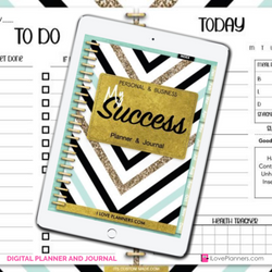 My Success Digital Planner and Journal/ GoodNotes, Xodo, Digital Journal, iPad Planner, tablet Planner Digital Planner Stickers