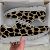 Image of White Leopard Skin Womens Athletic Sneakers - STUDIO 11 COUTURE
