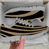 Image of Zebra Skin Womens Athletic Sneakers - STUDIO 11 COUTURE